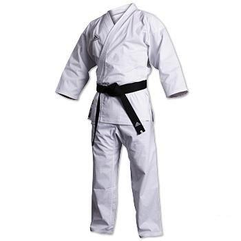 Adidas Karate Master Kumite Gi - White - Sz. - Uniform Master Adidas Karate