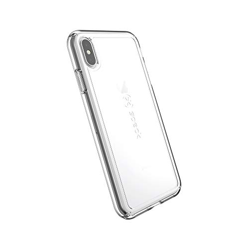 Speck Products GemShell iPhone Xs Max Case, Clear/Clear ()
