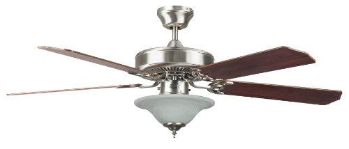 Concord Fans 52HES5EST Heritage Ceiling Fan with Bowl Light, 52