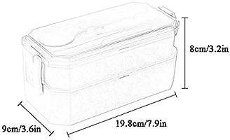 ZSLLO Materiales de Salud Almuerzo Caja de Bento Caja Microondas ...