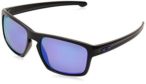 Oakley-Mens-Sliver-Polarized-Iridium-Rectangular-Sunglasses