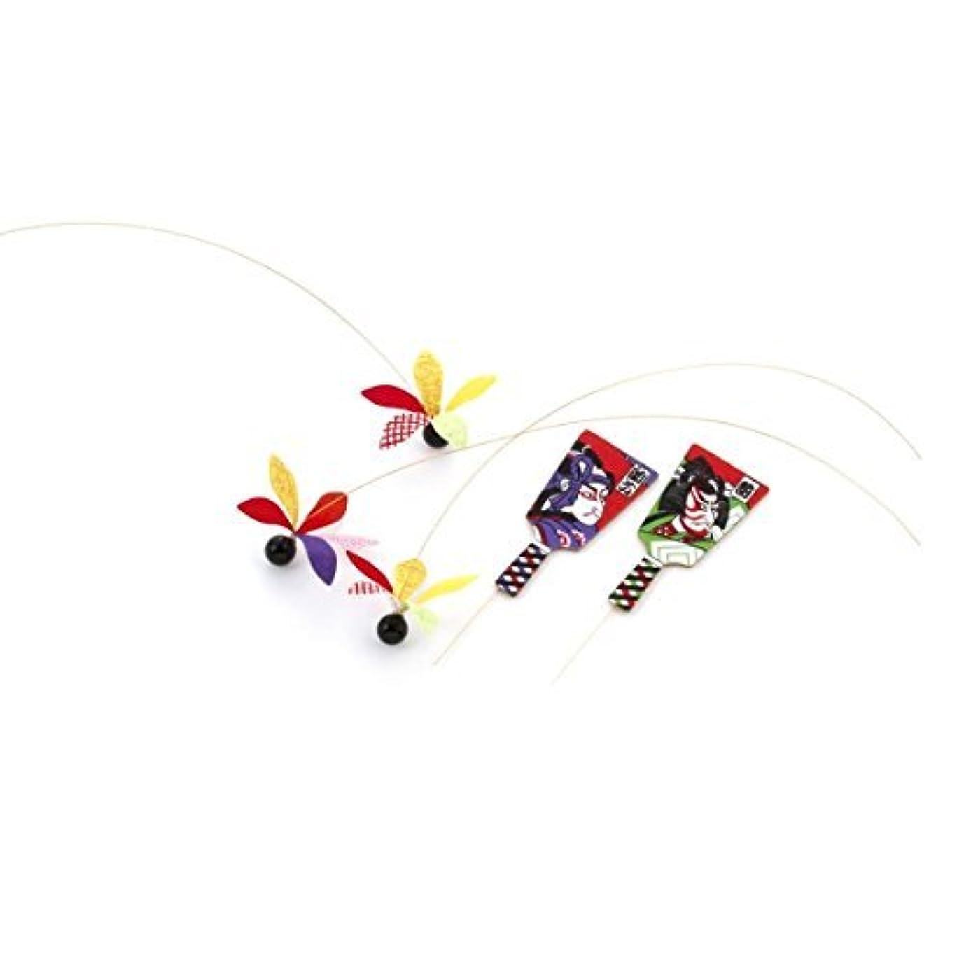 狂人利得鉛角凧(獅子頭)【お正月飾り】(DE0425)