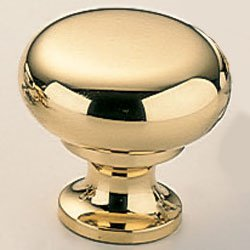 Classic & Modern Mushroom Knob Finish: Polished Nickel Plated, Size: 1.23