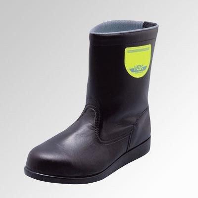 安全サイン8 舗装用安全靴 半長靴 ゴム底タイプ ノサックス HSK208 サイズ:25.5cm B075SQBWG2