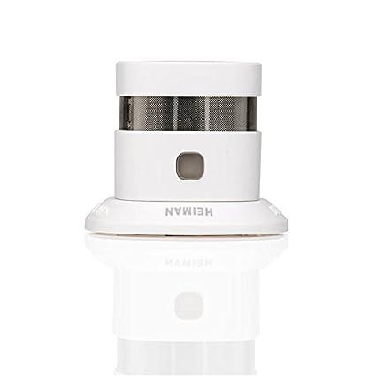 heiman SmartHome Wireless Detector de humo (hs1sa de m)/Wi-Fi Smoke