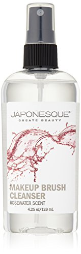 Price comparison product image JAPONESQUE Makeup Brush Cleanser, Rosewater, 4.25 fl oz