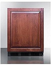 Summit FF63BBIIF Refrigerator, Brown