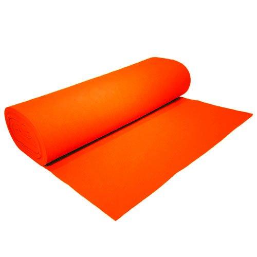 Acrylic Felt by the Yard 72'' Wide X 2 YD Long: Neon Orange by The Felt Store