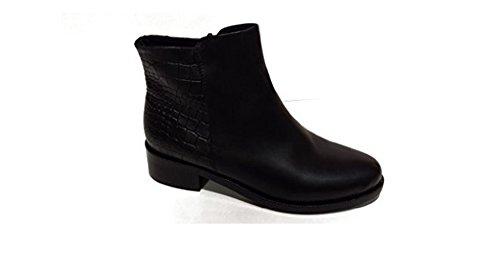 Peter Kaiser Fontana Stivaletto 84213-823 Black Nappa Grego Leather Pelle Liscia (4,5)