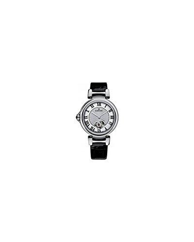 Edox Women's 85025 3C ARN LaPassion Analog Display Swiss Automatic Black Watch