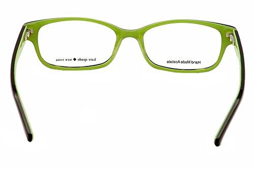 1d0cf7df9f6ec5 ... KATE SPADE Monture lunettes de vue LUCYANN 0DV2 Écailles Vert kiwi 51MM  ...