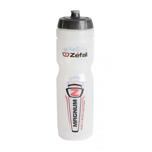 Zefal 164 Water Bottle, 33 oz, Magnum Clear