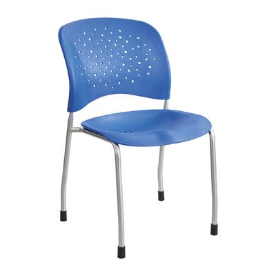 Rêve Armless Stacking Chair (Set of 2) Seat Finish: (Reve Finish)