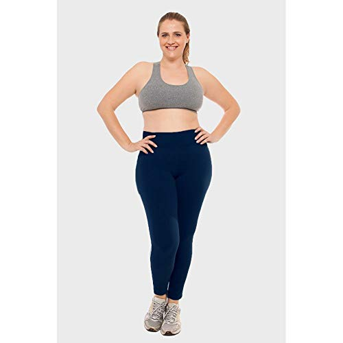 Calça Legging Plus Size Lisa Fitness Marinho-54