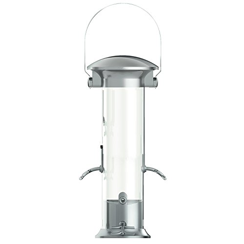 Gardman BA01603 Large Heavy Duty Swivel Top Thistle/Nyjer Seed Bird Feeder, 6.3