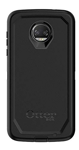 Rugged Protection OtterBox Defender Series Case for Moto Z2 Force Edition - Bulk Packaging - Black