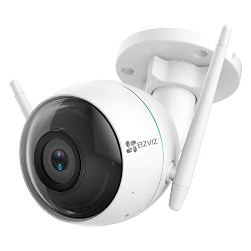 EZVIZ C3WN 1080p Outdoor WiFi Bullet Camera Weatherproof Smart Motion Detection Zone 100ft Night Vision 2.4GHz WiFi Supports MicroSD Card up to 256GB Price & Reviews