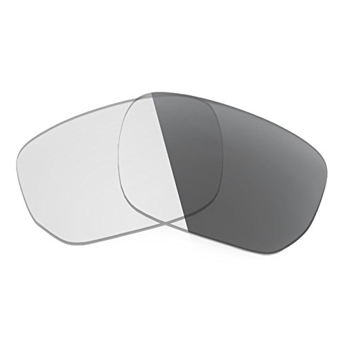 Revant Replacement Lenses for Oakley Style Switch Elite Adapt Grey - Replacement Sunglasses Lens Switch