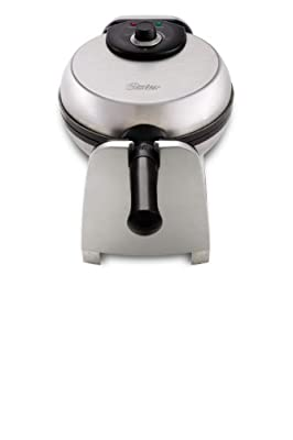 Oster CKSTWFBF21 1-1/2-Inch Thick Belgian Flip Waffle Maker, Brushed Stainless Steel by Oster