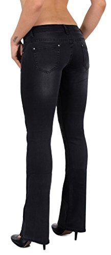 taille bootcut tex Typ basse Cut Jean Jean pantalon femme by BB j44 Boot fXqTn