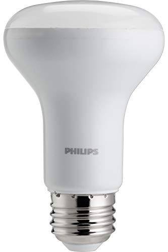(Philips 45W Equivalent Soft White R20 Dimmable with Warm Glow Light Effect LED Light)