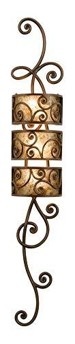 Antique Copper Windsor 3 Light Wallchiere Sconce Antique Copper