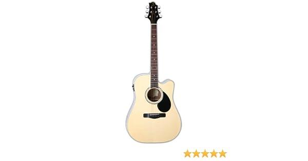 Samick Music G Series 100 GD100RSCE Dreadnought Guitarra acústica ...