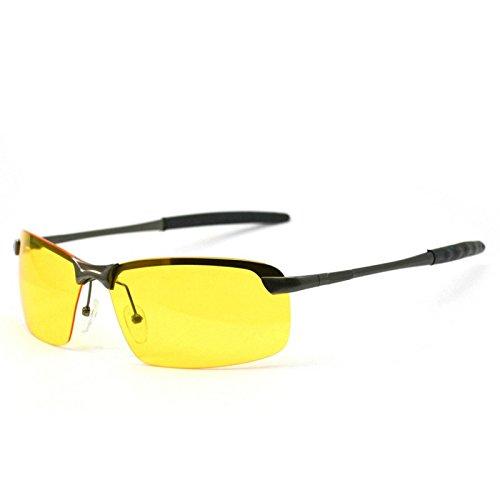 de sol conducción gafas nocturna de TIANLIANG04 gafas sol nocturno polarizadas de gafas visión nocturna de Hombre conductor de uso Gafas xBqUvPwRU