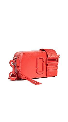 Marc Jacobs Women's Snapshot DTM Camera Bag, Geranium, Red, One Size