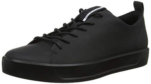 ECCO Men's Soft 8 Tie Fashion Sneaker Black, 10-10.5 M US ()