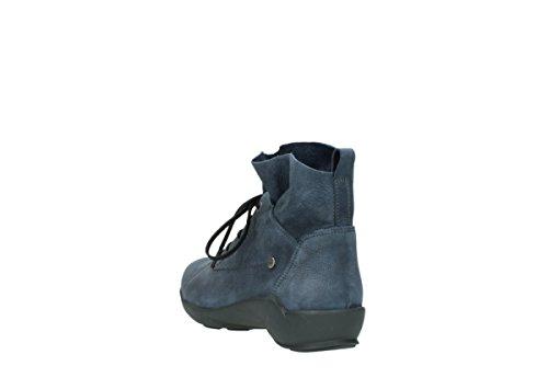 À Wolky Comfort Nubuck Bello Lacets 10800 Bleu Chaussures EwPrApqP