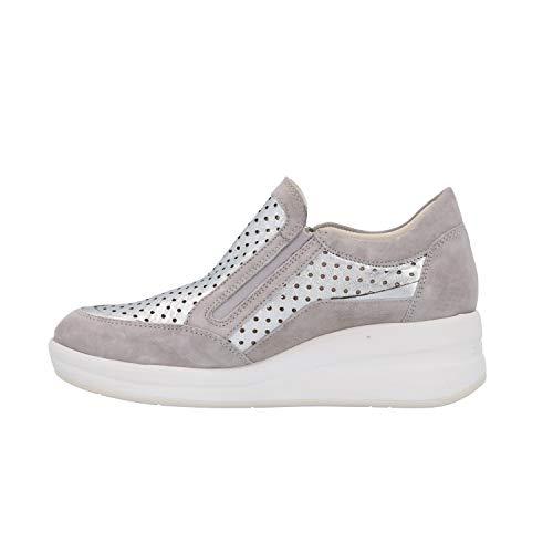 Sneakers Grigio Zeppa Donna Scarpe Melluso R20224 wFqZYSzzx