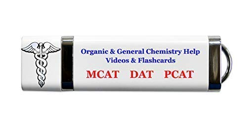 2018 2019 exam prep for MCAT DAT or PCAT Chemistry Review for MCAT Over 23 Hours DAT or PCAT: General and Organic Chemistry Condensed Review Videos and Flash Cards Video is Better Than Books.