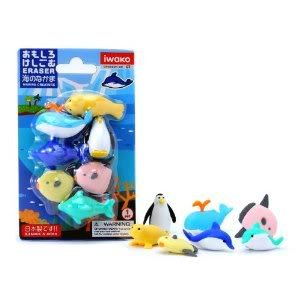 Toy / Game Iwako Japanese Eraser - Super Cute Sea Life