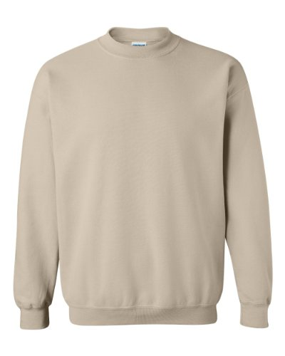 (Gildan Men's Heavy Blend Crewneck Sweatshirt - XX-Large - Sand)