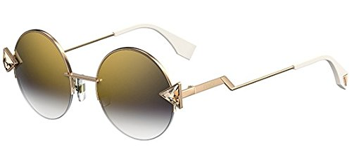 Fendi Rainbow FF 0243/S ‑ Gold/Gold Grey Shaded - Shoes Fendi Eye