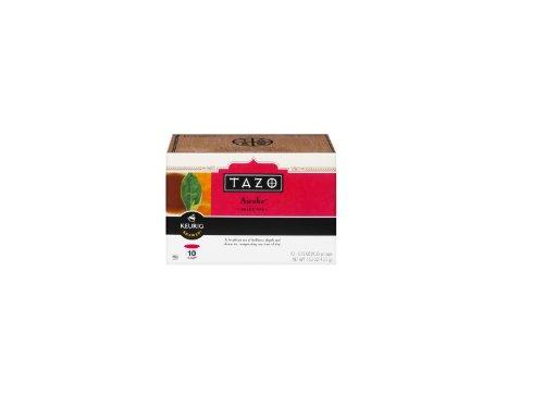 Tazo Awake Black Tea K-cups for Use in Keurig Brewers, 10-0.15oz Cups Per Box