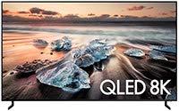 Samsung QN55Q900RBFXZA Flat 55-Inch QLED 8K Q900 Series Ultra HD Smart TV with HDR and Alexa Compatibility (2019 Model), Black