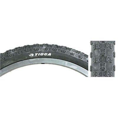 Tioga Comp III Reifen mit Draht Seite Wand, Schwarz, 20 x 1–1/8 Zoll von Tioga