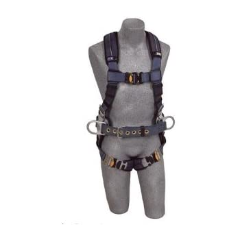 DBI/Sala 1110151 ExoFit XP Construction Vest-Style Full Body Harness, Gray, Medium