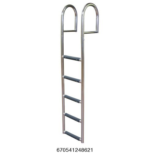 5 Step Stationary Dock Ladder, Stainless 316 - Jif Marine ()