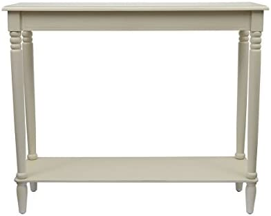 D cor Therapy Simplify Large Console Table, Antique White
