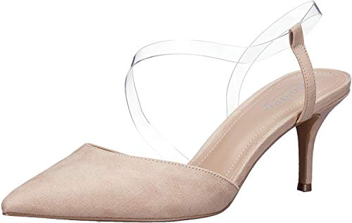 CHARLES BY CHARLES DAVID Women's Alda Pump, Nude, 10 M US