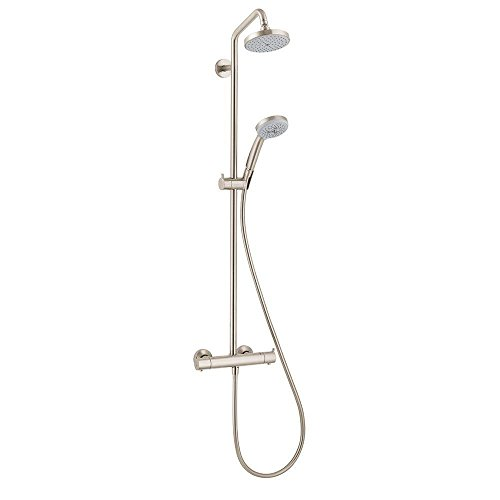 Hansgrohe 27169821 Showerpipe, Brushed Nickel by Hansgrohe