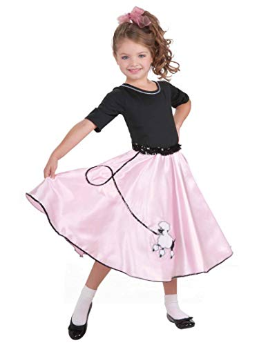 50s Costume For Girls (Forum Novelties Pretty Poodle Princess Costume, Child's)