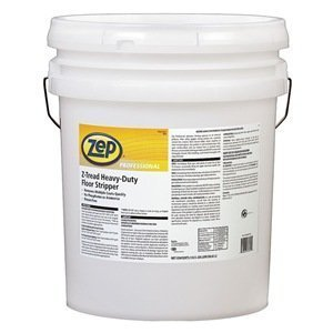 (Zep Professional R03135 Z-Tread Heavy Duty Stripper, Mild Fragrance, Clear (Pail of 5 Gallons))