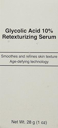 (Glycolic Acid 10% Retexturizing Serum Anti Aging Skin Care Age Skin Saver)