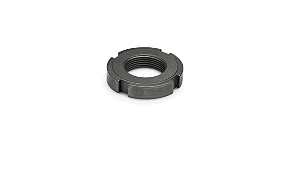 J.W Winco 1804.1-M50X1.5 Slotted Spanner Lock Nut with Polyamide Insert Steel Zinc Plated M50 x 10.5 GN1804.1
