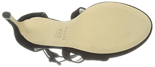 Stuart Weitzman Women's Streamer Platform Sandal Black 6kbj0z3vuu