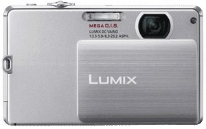 Panasonic Lumix DMC-FP3 14.1 MP Digital Camera with 4x Optical Image Stabilized Zoom and 3.0-Inch Touch-Screen LCD (Silver) - Panasonic Switch Cover
